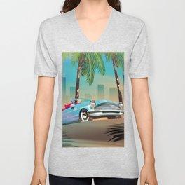 Classic Car Unisex V-Neck