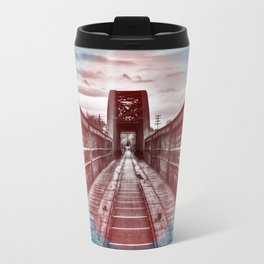 Abandoned Train Tracks in Scotland. Travel Mug