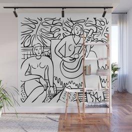 La Musique, 1939, Henri Matisse, Posters, Prints, Tshirts, Bags, Men, Women, Kids Wall Mural
