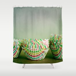 Cupcake Love Shower Curtain