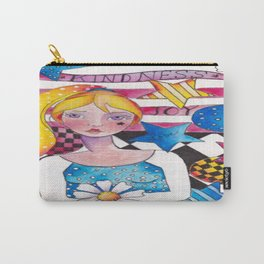 Patriotic Girl Carry-All Pouch
