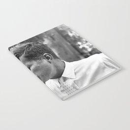 John F Kennedy Smoking Marijuana Notebook