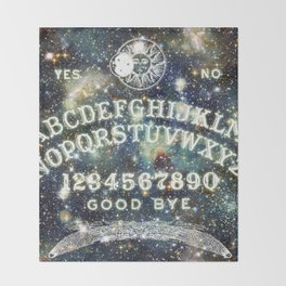 Ouija Board (Celestial Version) Throw Blanket