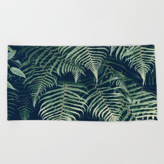 Fern Beach Beach Towel