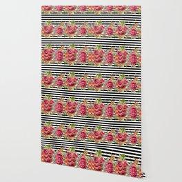 Elegant Christmas - apple, cinnamon & rose Wallpaper
