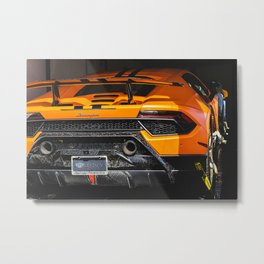 Performante Transport Metal Print