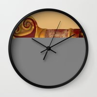 arsenal Wall Clocks featuring The Leecher by Katie Lawter