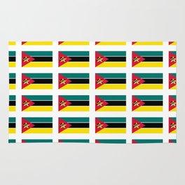 Flag Of mozambique-Mozambique,mozambican,Moçambique,moçambicano,moçambicana,Maputo Rug