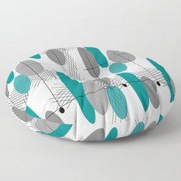Orbs Always Float Floor Pillow