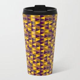 Funky Triangles Travel Mug