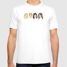 Bittersweet Symphony White MEDIUM Mens Fitted Tee
