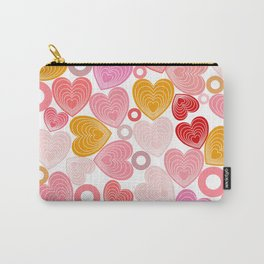 Dancing Hearts Carry-All Pouch