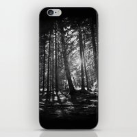the shining iPhone & iPod Skins featuring Shining Through by Nicklas Gustafsson