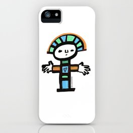 November Totem iPhone Case
