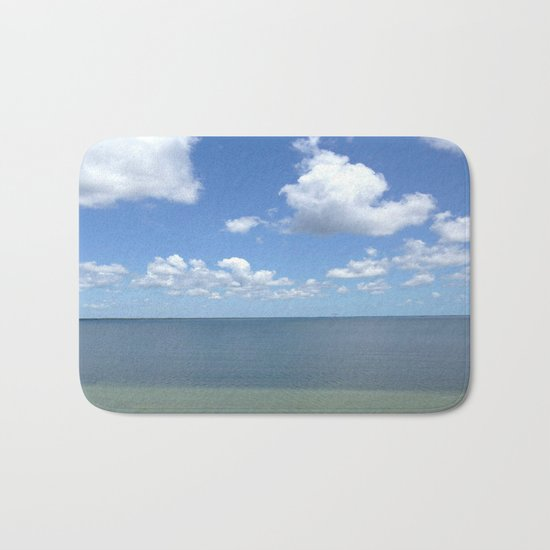 Tranquil Atmosphere On The Ocean Bath Mat