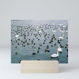 Crowded places Mini Art Print