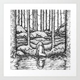 John Bauer Tuvstarr Art Print