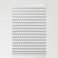 hexagon Stationery Cards featuring Design Hexagon by ArtSchool