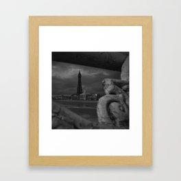 Blackpool Tower Framed Art Print