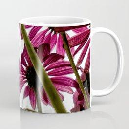 Pink Coneflower Daisy Coffee Mug