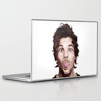 louis tomlinson Laptop & iPad Skins featuring Louis Tomlinson - One Direction by jrrrdan