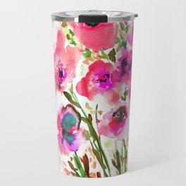 Bouquet Pink Travel Mug