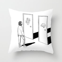 One or The Other Throw Pillow