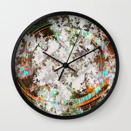 circled partitions Wall Clock