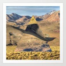 Bolivian Hills Art Print