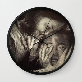 The Walking Dead: Maggie & Glenn Wall Clock