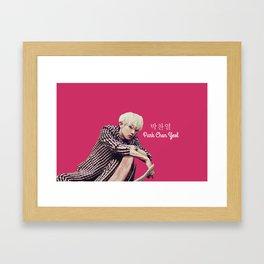 EXO Chanyeol Love Me Right Framed Art Print