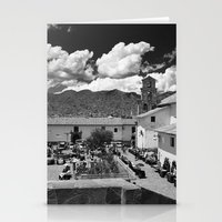 peru Stationery Cards featuring Cusco, Peru by Blake Burton