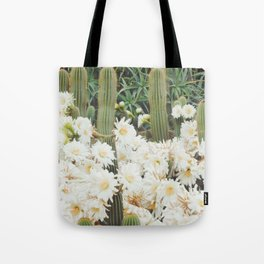 Cactus and Flowers Tote Bag