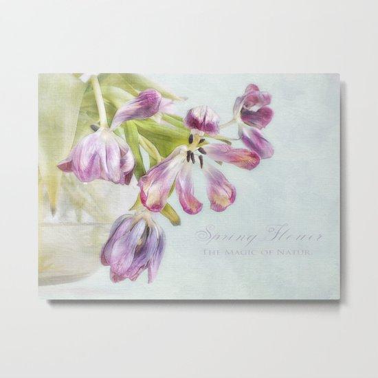 love tulips Metal Print
