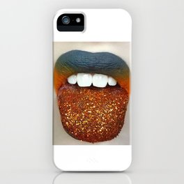 Glitter Infection iPhone Case