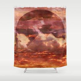 New Horizons Shower Curtain