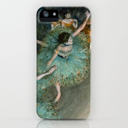 Degas - Swaying Dancer (Dancer in Green) iPhone Case
