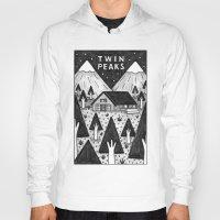 twin peaks Hoodies featuring Twin Peaks by Ana Albero
