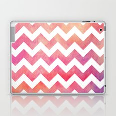 Watercolor Chevron. Laptop & iPad Skin