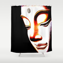 Bhudda Shower Curtain