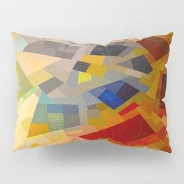 Otto Freundlich Komposition 1939 Mid Century Modern Abstract Colorful Geometric Painting Pattern Art Pillow Sham