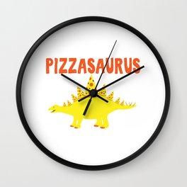 PIZZASAURUS Wall Clock