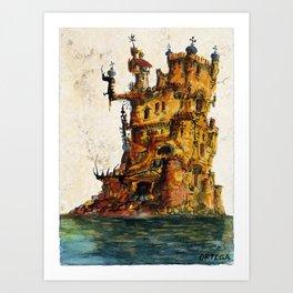 Orgoglio's Castle Art Print
