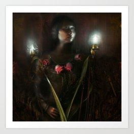 autumnal rite Art Print