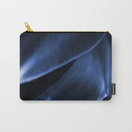 Succulent Leaf In Blue Color #decor #society6 #homedecor Carry-All Pouch