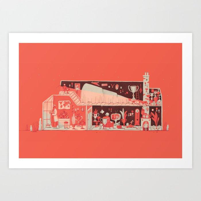 Duif print #3 Art Print