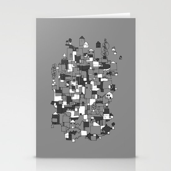 Floating Village Stationery Cards