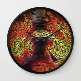 Incendium Waltz  Wall Clock