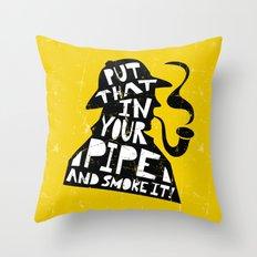 Smoke It! Throw Pillow