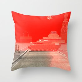 Squared: Skyhawk vs Armata Throw Pillow